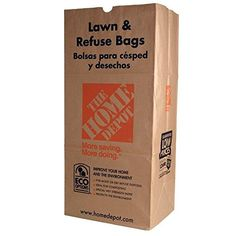 2-ply wet-strength paper construction for durability and tear resistance * 30 gal. capacity * Self standing * Great for lawn and leaves disposal * (Placed within the Amazon Associates program) * 06:15 Mar 17 2017