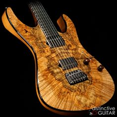 Suhr Modern Custom DG Select Spalted Maple available at distinctiveguitar.com