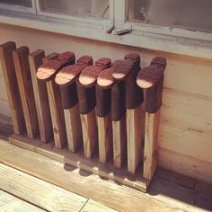 Ingenious boot stand by @penningtonpoint #farm #boots #organizing #diy by SprittiBee, via Flickr