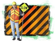 "Construction zone -- ""S"" Tips for Safety"