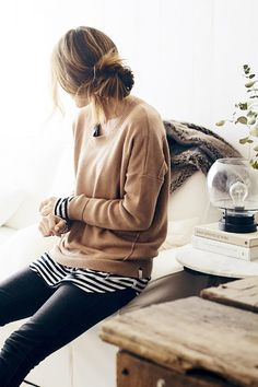 stripes and sweaters
