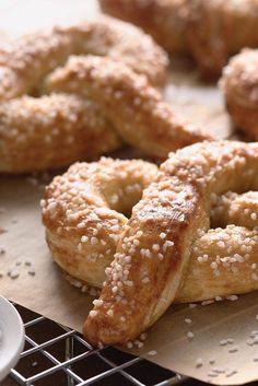 Hot Buttered Soft Pretzels   Recipe