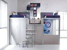 Bedroom Designs Space Saver letti a soppalco | bedrooms, room ideas and lofts