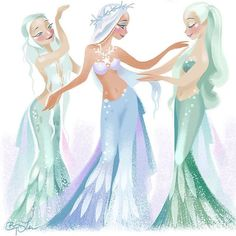 """Hear me out! I'm halfway on theme today - inspired by the Royal Finnish Ballet's """"The Little Mermaid"""". GOOD GOD THE COSTUMES. Ariel Costumes, Ballet Costumes, Little Girl Ballerina, The Little Mermaid, Brittney Lee, Character Illustration, Costume Design, Cool Drawings, Aurora Sleeping Beauty"""