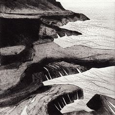 Carborundum & drypoint. Just beautiful work by Anita Reynolds. http://www.anitareynolds.com/daily-prints-six/