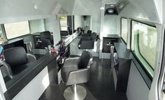 Mobile VW Crafter Barber Shop! I would buy this tomorrow! Come on lotto!