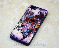 art floral iPhone case