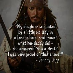 Captain Jack Sparrow, Pirates of the Carribean, Johnny Depp, Movie, Quotes