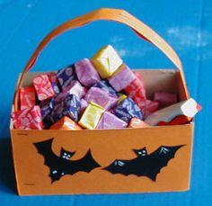 Paniers et sacs à bonbons