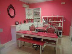 Salon de uñas vintage