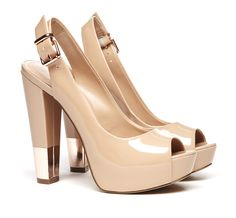 Andrea Colorblock Sandal.Not excited about the gold tips on the heals but love the style and color of the shoes.
