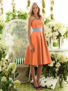 Vestido+de+madrinha+laranja