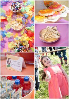 Ideas para una fiesta tropical, de Pizzazzerie / Ideas for a tropical party, from Pizzazzerie