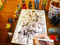 Work in progress Tiki Art, Kids, Inspiration, Young Children, Biblical Inspiration, Boys, Children, Kid, Children's Comics