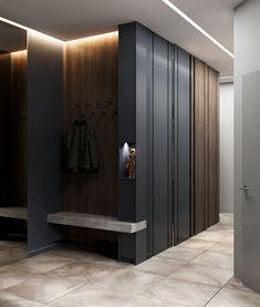 C CLEARinterior designDesign: Maxim Tsiabus for Vae. Modern Japanese Interior, Modern Interior, Interior Architecture, Interior And Exterior, Coridor Design, Foyer Design, House Design, Minimalist Design, Modern Minimalist