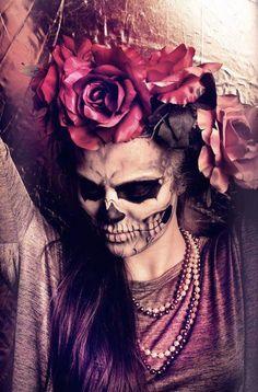 Dia de los Muertos [ MexicanConnexionForTile.com ] #DayoftheDead #Talavera #handmade