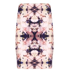 Mirror Floral Skirt