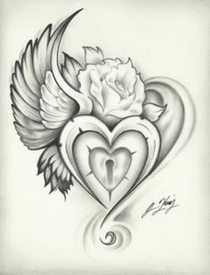 Heart Rose Tattoo | Women Tattoo Ideas