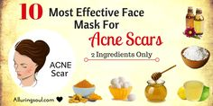 These Face mask for acne scars will help you to get clear skin and lightens the stubborn acne marks and also provide nourishment to your skin.