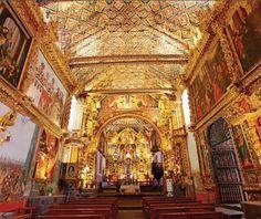 Igreja de São Pedro em Andahuaylillas