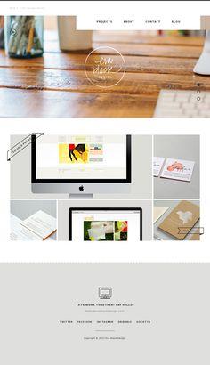 Website #design #inspiration #minimal