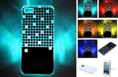 Minigaga LED Sense Flash Lighting Case Cover Skin for iPhone 5 Colors Changing $15.99