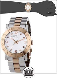 Marc Jacobs MBM3194 - Reloj con correa de metal, para mujer, multicolor  ✿ Relojes para mujer - (Gama media/alta) ✿