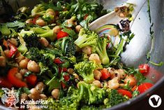CIZRNOVÝ SALÁT Healthy Food, Healthy Recipes, Home Recipes, Broccoli, Vegetables, Healthy Foods, Healthy Food Recipes, Vegetable Recipes, Healthy Eating Recipes