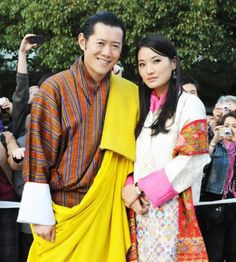 King Jigme Khesar Wangchuck and his wife have been married since 2011
