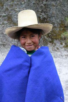 Una chiquita linda en Cajamarca, Peru  photography c. Susan Sprague, 2013