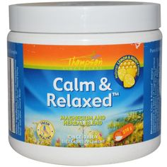 iHerb.com - Customer Reviews -Thompson, Calm & Relaxed, Natural Lemon & Honey Flavor, 270 g