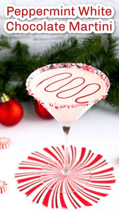 Christmas Martini, Christmas Cocktails, Holiday Cocktails, Christmas Recipes, Christmas Foods, Christmas Cooking, Christmas Treats, Thanksgiving Recipes, Peppermint Martini
