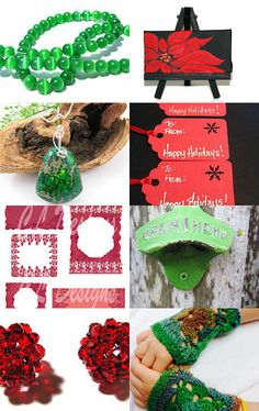 Celebrating Christmas in July by Lydia on Etsy--Pinned with TreasuryPin.com