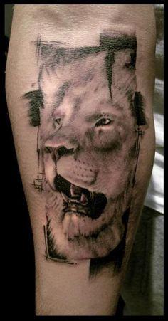 lion Leo tattoo