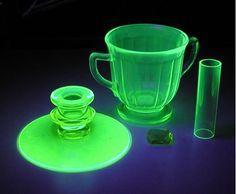 Uranium Glass (Vaseline Glass)