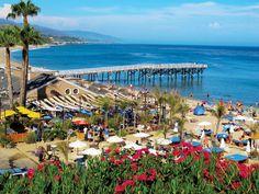 Paradise Cove in Malibu, California. Best Day Ever.