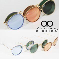 57c712225 Um dos óculos de sol mais clássicos da Rray Ban, nesta versão que cabe no
