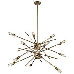 The Xenia 12 Light Chandelier by ELK Lighting is all over the place, and that