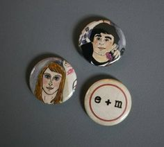 Buttons from invitation...