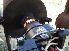 automatic waste oil burner