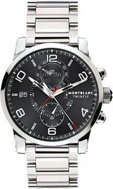b4d3e6dacb6d Montblanc Timewalker Twinfly Chronograph 104286  #mensluxurywatchesaccessories Seamaster Watch, Omega Seamaster, Swiss  Luxury Watches