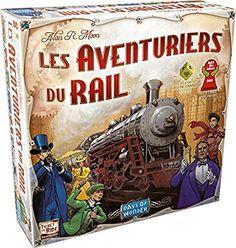 Asmodee - AVE02 - Jeu de Stratégie - Les Aventuriers du Rail Europe: Amazon.fr: Jeux et Jouets