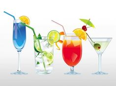 Wow your friends at your VMA viewing party with these multicolored, delicious cocktails that are far from ordinary!