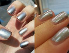 Ozotic - 903 over Sally Hansen - Bride to Be