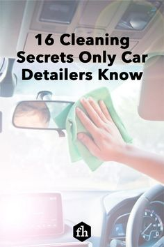 Save $200 and detail your car yourself in half a day. Get professional results using these tips from experienced detailers. Car Cleaning Hacks, Household Cleaning Supplies, Car Hacks, House Cleaning Tips, Window Cleaner, Car Wash Mitt, Car Wash Soap, Organizing, Home