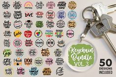 Keychain Design, Keychain Ideas, Mother Teach, Pixel, Svg Files For Cricut, School Design, Filing, Graphic, Silhouette Cameo