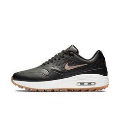 Nike Air Max 1 G Women s Golf Shoe Size 9.5 (Black) 561b79eace