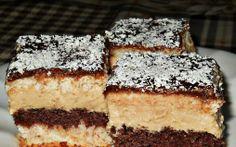 Retete Culinare - Prajitura cu nuca de cocos,biscuiti si crema de ness