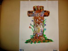 Melissas Jewelry and Gems: 2 New Hand Painted Gift Bags for Easter