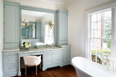 Neutral shades are a popular pick for bathrooms, but that shouldn't mean that adding color into your bathroom design is totally off limits. Just as with...